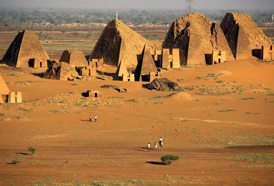 En images: les pyramides du Soudan, joyaux méconnus... sans doute plus pour longtemps