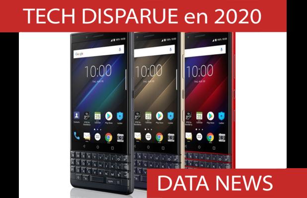 Rétrospective de l'année: les disparitions technologiques de 2020