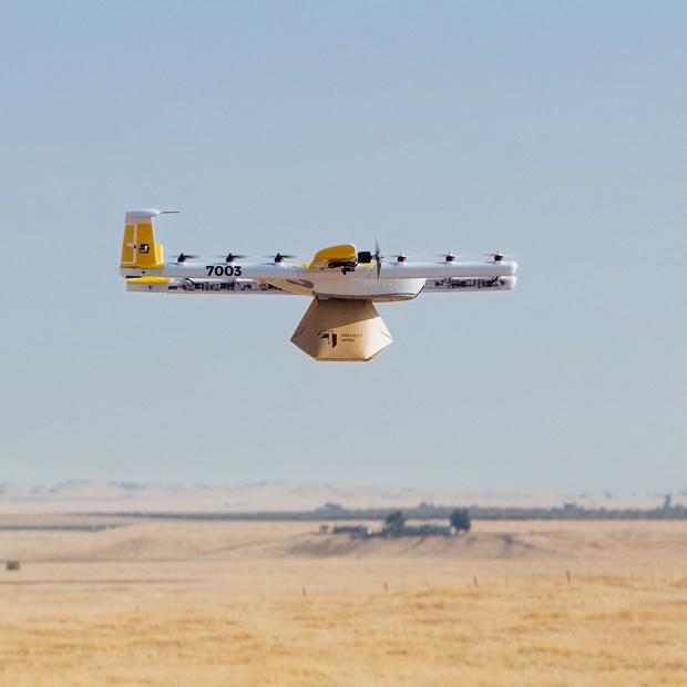 Wing, firme soeur de Google, autorisée à livrer des colis avec des drones aux Etats-Unis