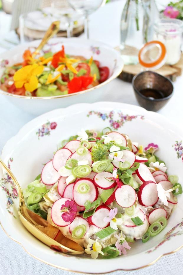 Het perfecte zomerse etentje volgens... Elle Van Opslagh (A Pinch of Odelle)