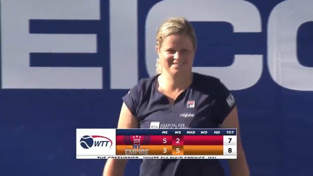 Kim Clijsters bat la 4e mondiale