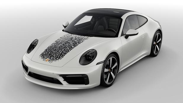 Decoratie met directe printing bij Porsche