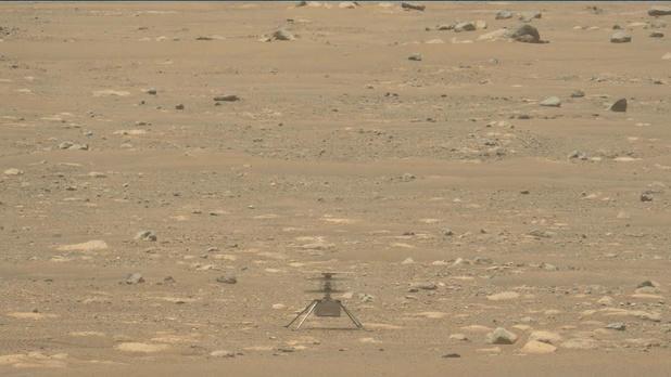 Echec du quatrième décollage de l'hélicoptère Ingenuity sur Mars
