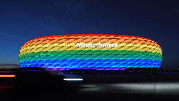 Euro 2020: l'UEFA refuse le stade de Munich arc-en-ciel, ces expressions politiques qui dérangent