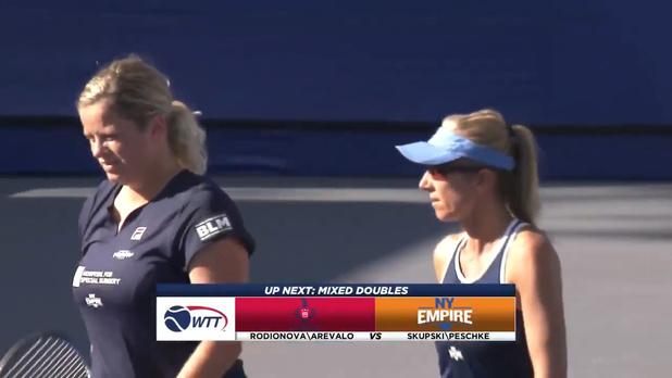 Kim Clijsters met fin à sa saison