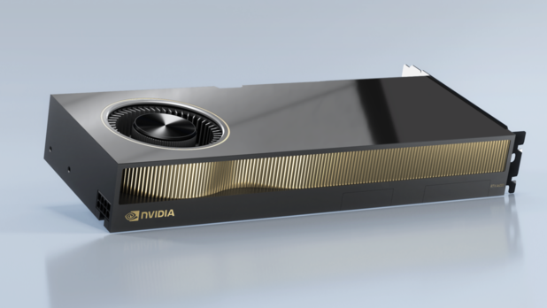 Nvidia toont GPU's voor workstations en servers