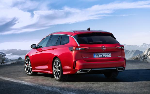 Opel Insigna GSi, première mondiale bruxelloise
