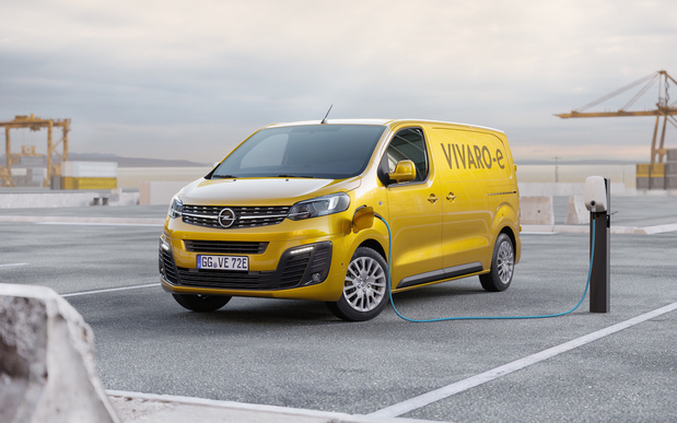 L'Opel Vivaro-e arrive en 2020