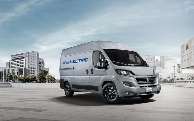 Première mondiale pour le Fiat Ducato Electric