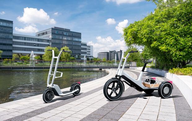 BMW ne néglige pas la mobilité douce