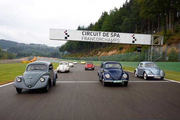 Volkswagen Coccinelle, les adieux belges