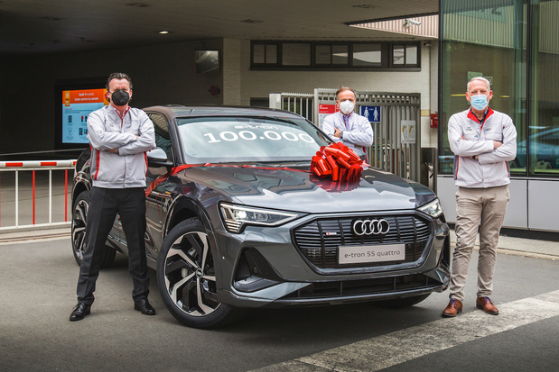 Audi Brussels a passé le cap des 100.000 Audi e-tron