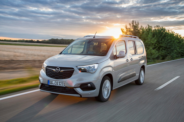 L'Opel Combo Life passe à l'essence