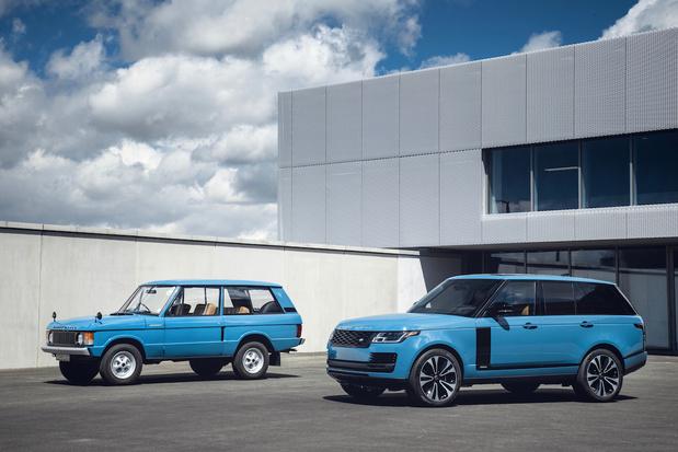 Range Rover Fifty, aux couleurs d'époque