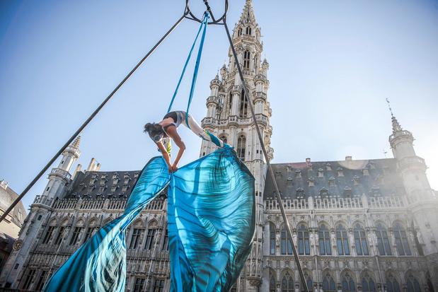 Quatre week-ends d'animation en direct sur la Grand-Place de Bruxelles