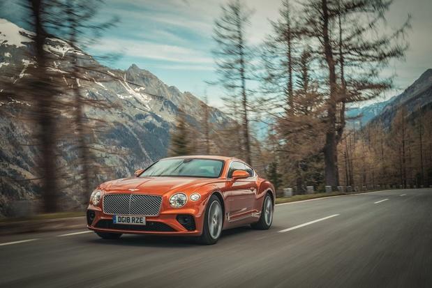 Bentley Continental GT naar Pikes Peak