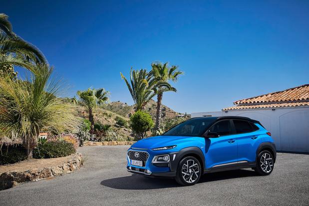Hyundai Kona nu ook als hybride