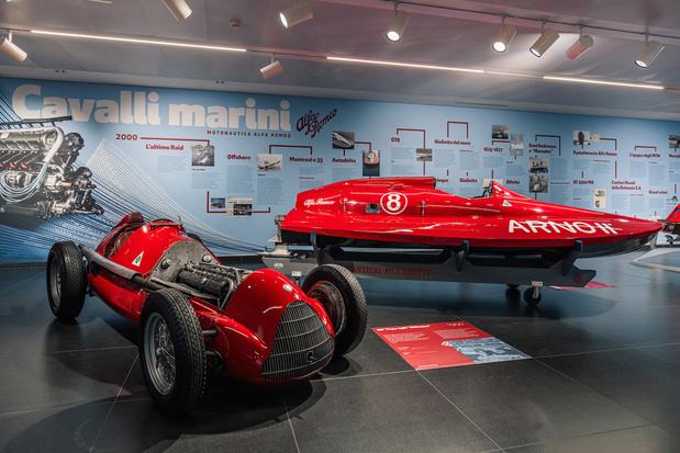 Quand Alfa Romeo gagnait avec des bateaux