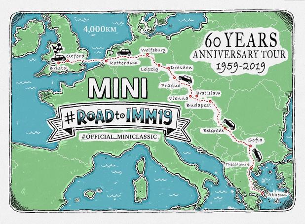 60 ans de Mini d'Athènes à Bristol