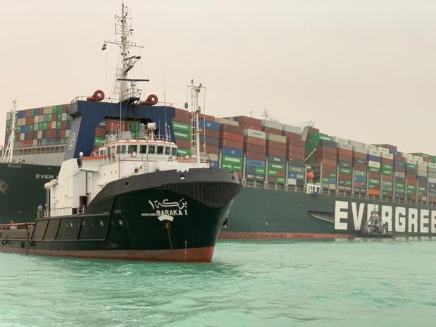Blocage du canal de Suez: Agoria redoute un impact sur les entreprises belges