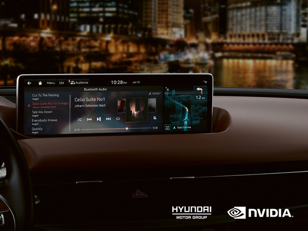 Nvidia soigne le nouveau tableau de bord des Hyundai et Kia à venir