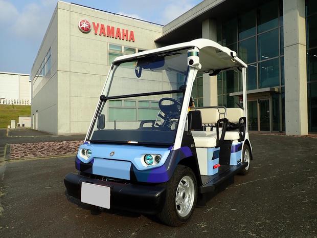 Yamaha ontwikkelt zelfrijdend golfkarretje