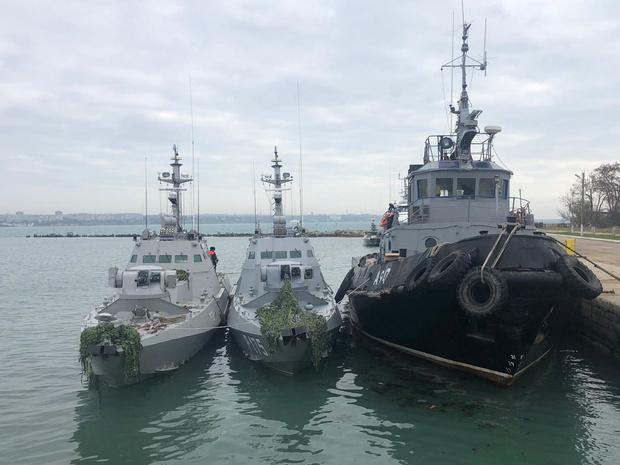 Rusland draagt in beslag genomen oorlogsschepen weer over aan Oekraïne