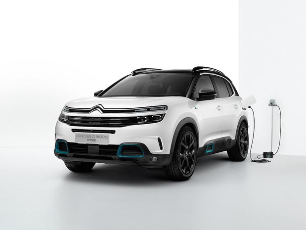 C5 Aircross Hybrid, première hybride rechargeable de Citroën