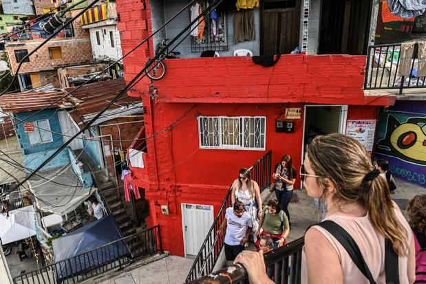 Le tourisme pour venir à bout de violence dans les favellas de Medellin en Colombie
