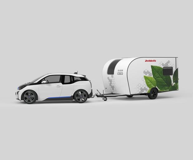 La mobilité électrique va révolutionner les vacances en caravane