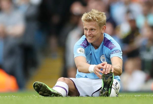 Zinchenko (Manchester City) opéré du genou
