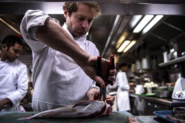 Le chef écolo Julien Dumas met du poisson durable au menu des fêtes