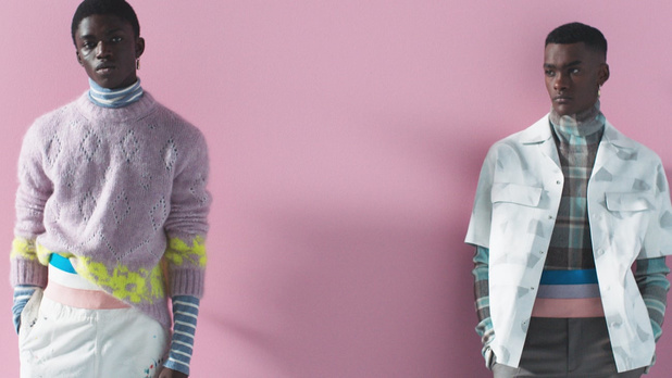 Dior zet zwarte modellen centraal tijdens digitaal mannendefilé