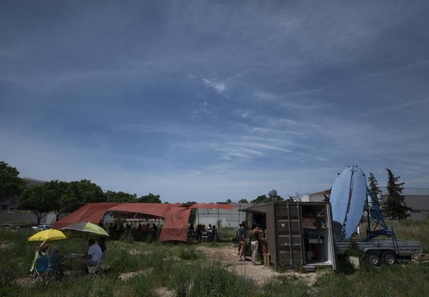 Le Présage, premier restaurant solaire d'Europe, pour manger écolo