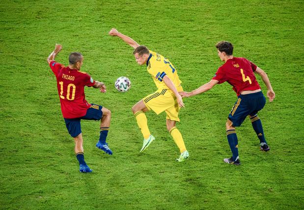 EURO 2021: Espagne-Suède, un nul au bout de l'ennui dans la nuit sévillane