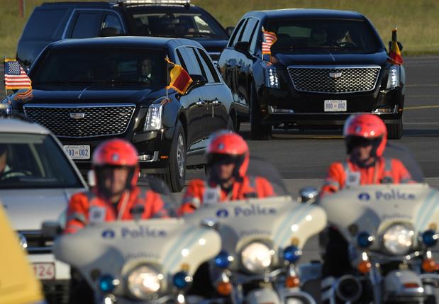 Biden à Bruxelles: les pertubations attendues sur le trafic