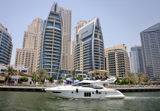 À Dubaï, les yachts comme réponse luxueuse à la distanciation sociale