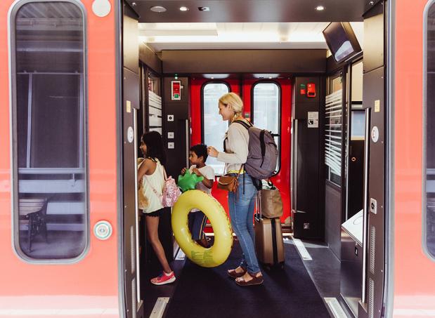 Plus de 800 destinations à l'étranger accessibles en train, à 6 h maximum de Bruxelles