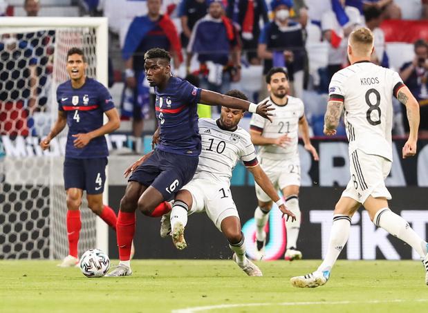 EURO 2021: La France gagne le choc contre l'Allemagne grâce à un but contre son camp