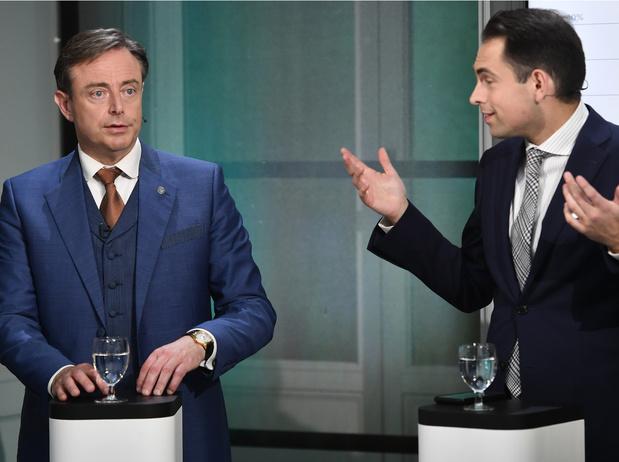 Les présidents de partis flamands débattent en présentiel pour la première fois depuis longtemps