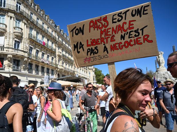 Nouvelle journée de protestation contre le pass sanitaire en France
