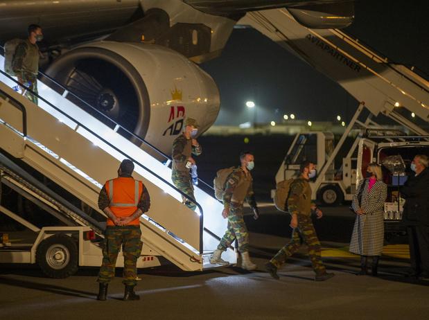 Opération Red Kite: Retour en Belgique des premiers militaires ayant été déployés à Kaboul