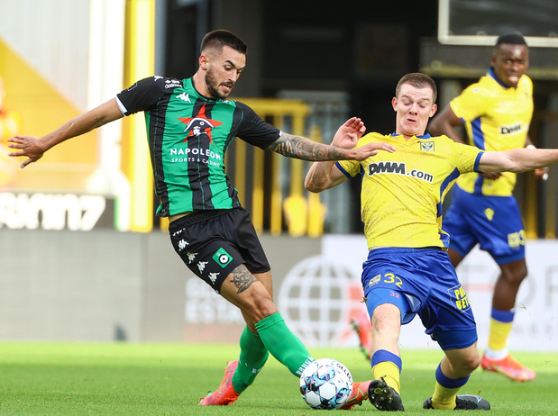 Jupiler Pro League: Premier revers de la saison pour Eupen surpris par Seraing, Saint-Trond s'impose au Cercle