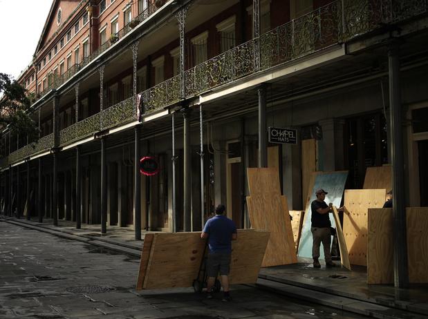 L'ouragan Ida (catégorie 4) menace la Louisiane, seize ans après les ravages de Katrina