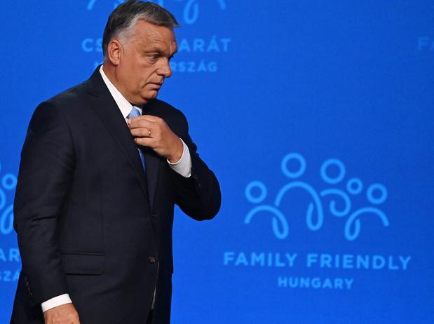 D'Eric Zemmour à Mike Pence en passant par Marion Maréchal, la droite identitaire réunie autour d'Orban pour défendre la famille