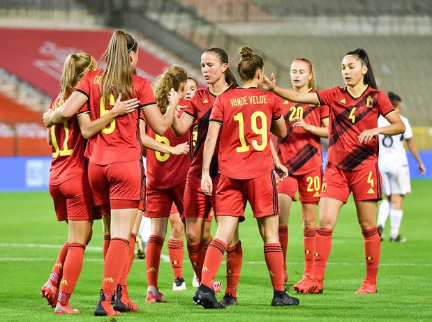 La Belgique offre un récital offensif contre l'Albanie