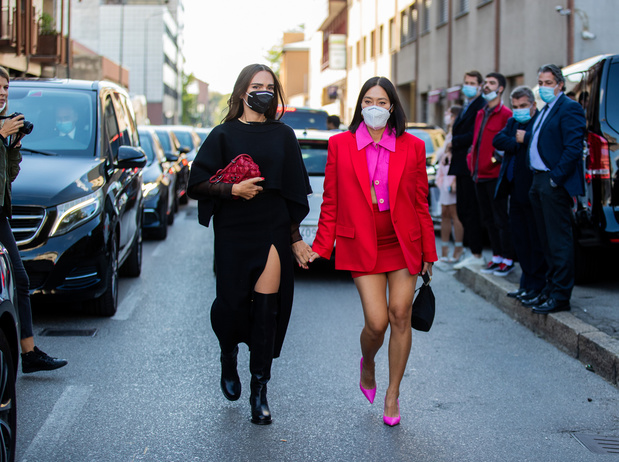 Le public enfin de retour aux défilés de mode à Milan