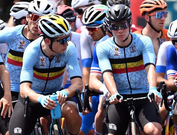 Avec Van Aert et Evenepoel, la Belgique espère enfin décrocher le titre mondial dans le contre-la-montre
