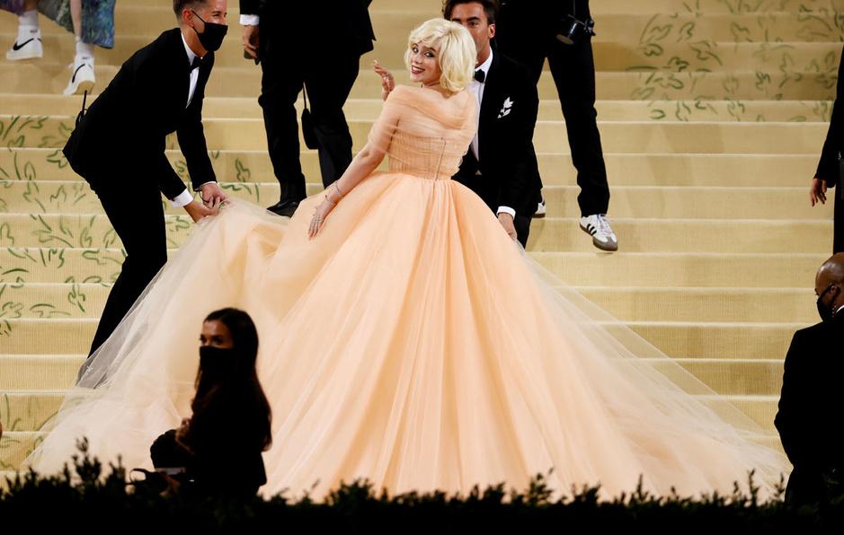 En images: toutes les folles tenues de l'extravagant Gala du Met