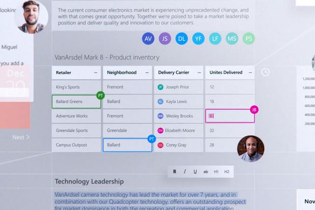 Microsoft toont 'Fluid': Office-stukjes zonder Office